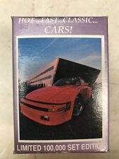 Dream Machines Hot Fast Classic Cars Collectors Cards 1991 Edition.