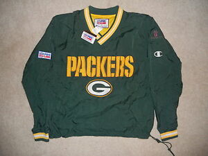 NWT Green Bay Packers Champion NFL PROLINE Pullover Lightweight Jacket M PrimeCO