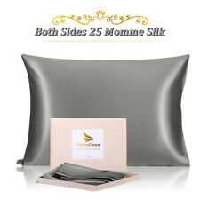 25 Momme Silk Pillowcase for Hair and Skin, Both Sides 100% Pure Silk