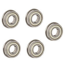 5PCS flange bush F623ZZ 3x10x4mm Miniature deep groove ball bearing 3*10*4mm