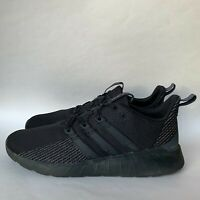 adidas Men's Questar Flow Running Shoe Sneakers Black Grey Size 13