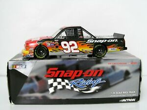 Snap-on Racing ~ Kevin Harvick #92 Chevy Race Truck by Action 1/24 scale