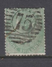 GB QV 1s pale green SG73 fine used CV £325