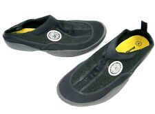 Body Glove Mens 8 Slip On Rubber Sole Water Shoes Black Yellow
