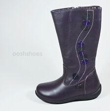 Primigi Girls Giova Purple Leather  Zip Boots UK 9 EU 27 US 9.5