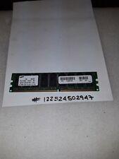 SAMSUNG 512MB DDR PC2100 DESKTOP Memory Module 184-pin DIMM, 266MHz  ECC RAM