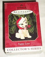 Hallmark Keepsake Christmas Ornament Collector Series Puppy Love German Shepard