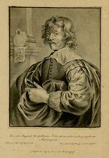 Antique Drawing-PORTRAIT-JOHANNES MEYSENS-PUBLISHER-Galle-Wieringa-1867