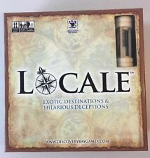 Discovery Bay LOCALE Board Game Exotic Destinations Hilarious Deceptions NEW