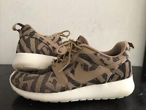 Nike Roshe One Jacquard Desert Camo Women Running 7US/ 4.5UK/ 38EUR. 705217-200