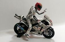 1:12 Set Minichamps Bike + Conversion Figure Jorge Lorenzo Laguna Seca 2010 RARE