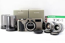 Near Mint FUJIFILM TX-1 Rangefinder film camera with FUJINON 90mm, 45mm Lens