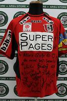 Maglia calcio ADMIRA WACKER ZINGLER MATCH WORN shirt trikot maillot camiseta