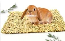 Rosewood Chill N Chew Natural Grass Mat Rabbits Hamsters Guinea Pigs Rats Degus