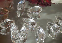 """Teardrop Crystal Prism 5 pc Clear Feng Shui Hanging Sun Catcher 10X20MM (.4x.8"""")"""