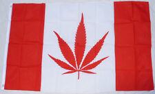 CANADA MARIJUANA FLAG - Canadian National Weed Drug Leat Illegal Pride Pot Smoke
