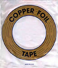 3/8 Inch copper backed edco copper foil for stained glass 1.25 mil