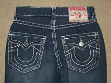 True Religion Row 30 Seat 34 Bobby Super T Destroyed Womens Jeans