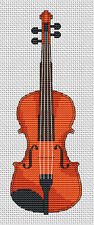 Violin Cross Stitch Kit