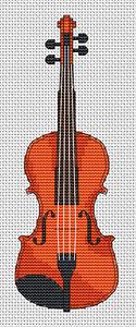 Violin Cross Stitch Kit
