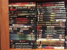 Action movies. Pick and Choose 250 Action dvd lot-Save on Shipping
