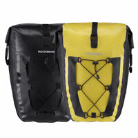 RockBros Cycling Waterproof Pannier Bag 27L MTB Bicycle Rear Seat Carrier 1pcs