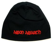 AMON AMARTH  beanie Hat printed (red hammer) Skull Cap official music band