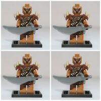 Lord Of The Rings The Hobbit Gundabad Orc Mini Figures use with lego 3