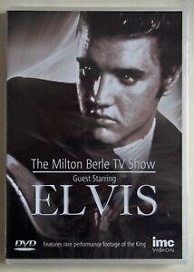 ELVIS PRESLEY / THE MILTON BERLE TV SHOW / VINTAGE 1956 TV / NEW SEALED / R2 PAL