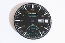 Dial for Seiko 6139-7101 black Helmet chronograph - 122507
