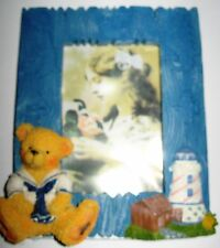 "Photo Frame Teddy 3"" x 4"" Opening"