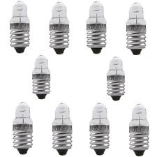 E10 spitzlinsenbirnchen bombilla zwerglampe lámpara de reemplazo birnchen 10x 3,7v 0,3a