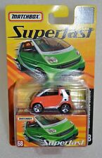 Matchbox Superfast Smart Fortwo Cabrio #68 in Orange ROW