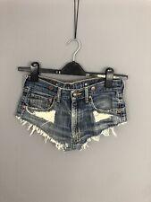 LEVI'S Denim Hotpants - Size W30 - Distressed - Great Condition - Women's