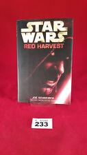B233 - Star Wars: Red Harvest Hardback Hardcover First Edition