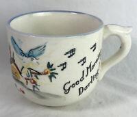 Vintage 1957 Lefton Mug Coffee Cup Good Morning Darling Good Morning Old Grouch