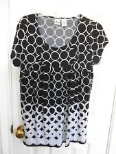 DUO MATERNITY TOP SHORT SLEEVES SIZE LARGE