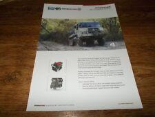 PINZGAUER Re-Power Pack Vehicle Brochure Prospekt Catalogue