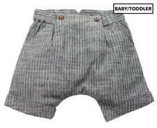 Bébé by Minihaha Baby Bailey Woven Short - Dark Stripe Baby 9 Months (T737)