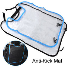Kids Toddler Anti Kick Mat Car Back Seat Protection Cover Protector Liner Auto
