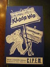 Partition Kloop Mop Al Philippart & Pedro Salverro Be Bop
