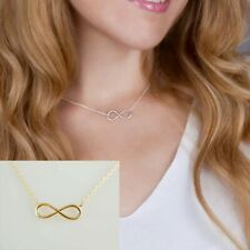 Gold Infinity Pendant Necklace