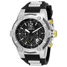 Invicta Bolt Chronograph Black Dial Men's Watch 25472 New With Tags!!!!