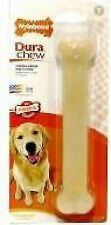Nylabone Dog Dura Chew Bone Toy Wishbone Textured Chicken Peanut Butter Bacon Original Giant