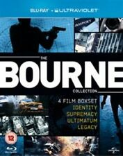 The Bourne Collection Blu-ray 2002 Region