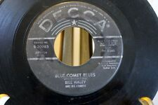 45 rpm record Bill Haley and The Comets Blue Comet Blues & Rudy's Rock