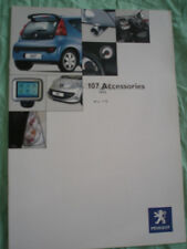 Peugeot 107 Accessories range brochure Jun 2005