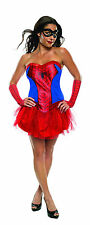Womens Spider-Girl Costume Adult Superhero Comics Cosplay Adult Size Medium