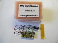 Fleischmann FMZ-Decoder 6844, Adresse 22, umprogrammierbar, geprüft