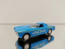 NOREV PEUGEOT 404 CONCEPT CAR DIESEL DES RECORDS BLUE 1965 1/43 SCALE